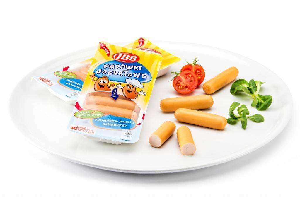 Parówki jogurtowe JBB